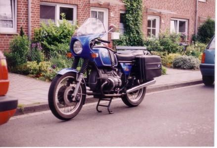Meine R75/6 im Juni 1999