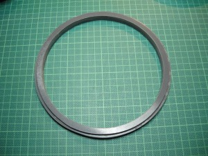 Adapterring aus Hart-PVC