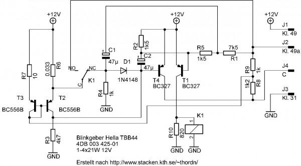 Schaltplan TBB44